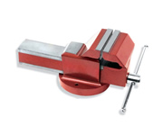 SG Iron Bench Vice (Double Slide Step) - Fixed Base